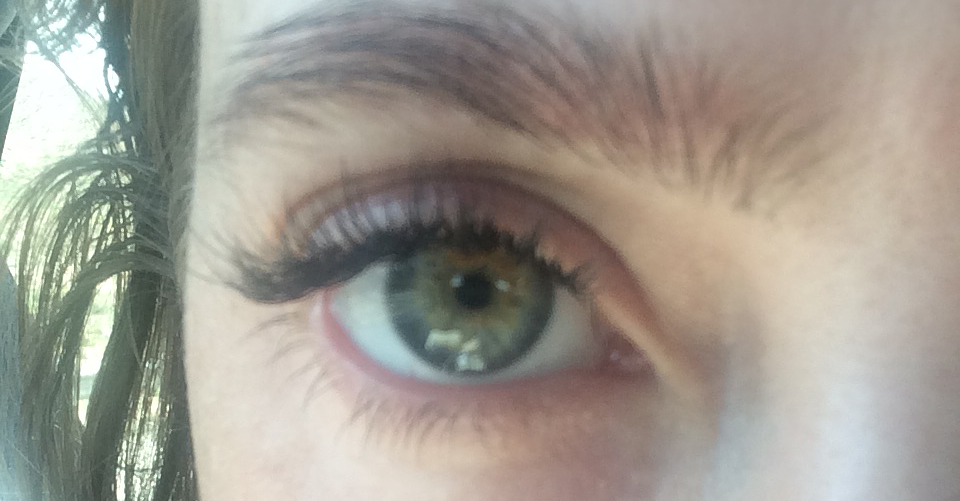 Eyelash Extensions Day 1