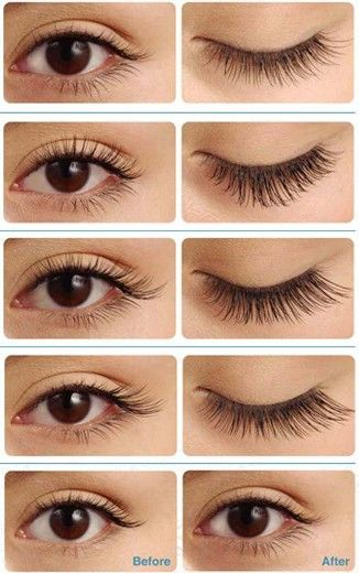 eyelash extensions placement